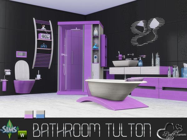 Tulton Bathroom Recolor Set 2 by BuffSumm at TSR image 2724 Sims 4 Updates