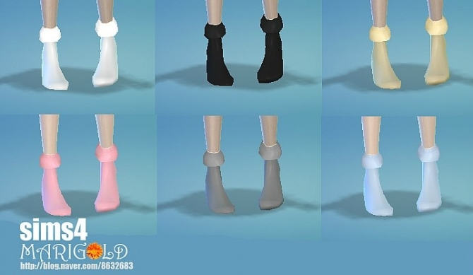 Girlish socks at Marigold image 2731 Sims 4 Updates