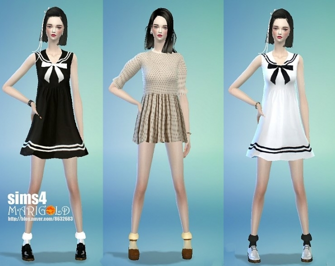 Girlish socks at Marigold image 2741 Sims 4 Updates