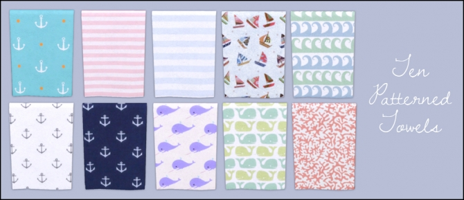 Soft towels at Martine's Simblr image 2815 Sims 4 Updates