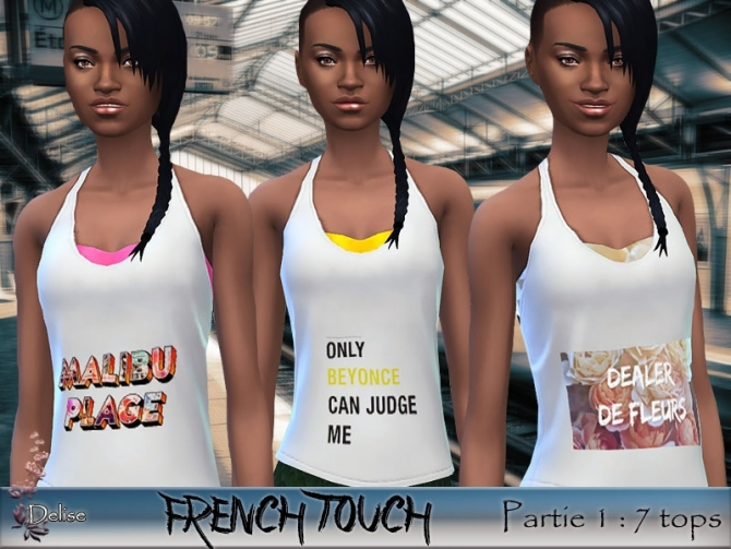FRENCH TOUCH PARTIE 1 at Sims Artists image 2921 Sims 4 Updates