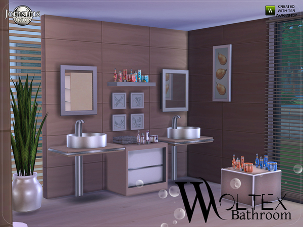 Woltex bathroom by jomsims at TSR image 3011 Sims 4 Updates