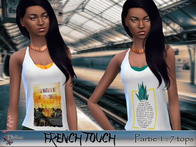FRENCH TOUCH PARTIE 1 at Sims Artists image 3020 Sims 4 Updates