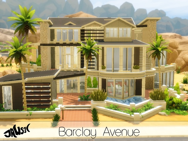 Barclay Avenue House By Jaws3 At Tsr Sims 4 Updates