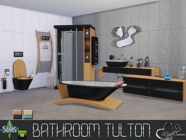 Sims 4 bathroom downloads sims 4 updates page 3 of 6 for Salle de bain sims 4