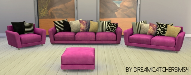 Hydrogen Living recolors at DreamCatcherSims4 image 311 Sims 4 Updates