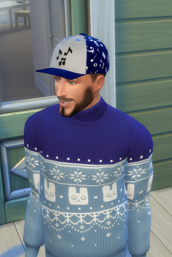 Sims 4 Four Assorted Flat Caps by nathanjenner at Mod The Sims