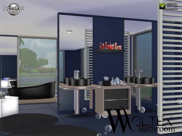 Woltex bathroom by jomsims at TSR image 3115 Sims 4 Updates