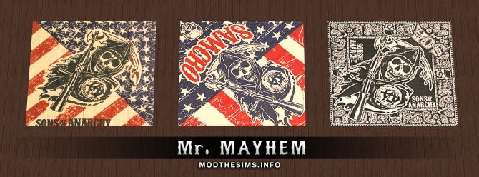 Sons of Anarchy Rugs Pack by Mr. Mayhem at Mod The Sims image 3123 Sims 4 Updates