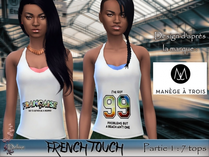 FRENCH TOUCH PARTIE 1 at Sims Artists image 3124 Sims 4 Updates
