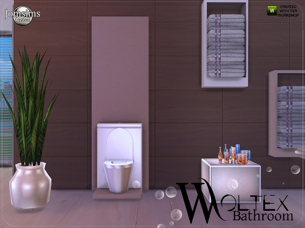 Woltex bathroom by jomsims at TSR image 3212 Sims 4 Updates