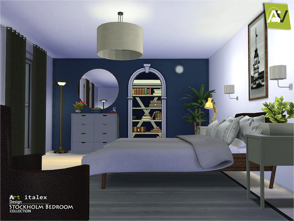 Stockholm Bedroom By ArtVitalex At TSR Sims 4 Updates