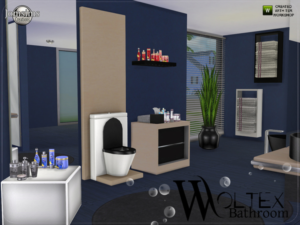 Woltex bathroom by jomsims at TSR image 3411 Sims 4 Updates