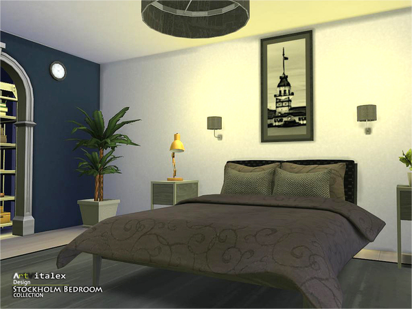 stockholm bedroom by artvitalex at tsr image 36 sims 4 updates