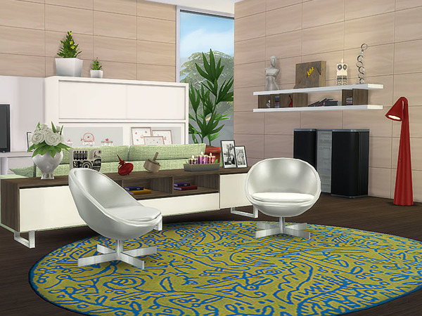 Sims 4 Hall SlideTK by Pilar at TSR