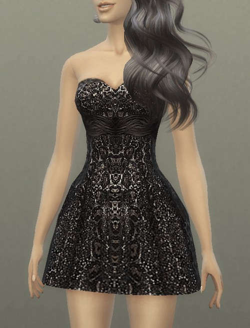 Dress Ruched Party at Tatyana Name image 39 1 Sims 4 Updates
