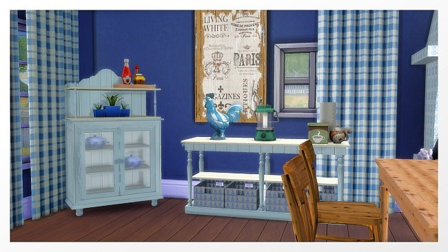 Door, Kitchen, Pilar Brocante Dining, Rugs recolors at All 4 Sims image 3914 Sims 4 Updates