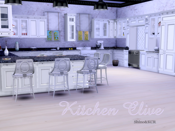 Kitchen Clive By Shinokcr At Tsr 187 Sims 4 Updates