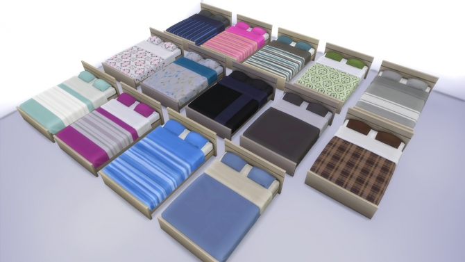 Mix and Match Bedroom Furniture by Wee Albet at Mod The Sims image 4012 Sims 4 Updates