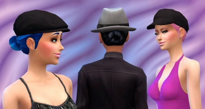 Sims 4 Bun Low at My Stuff