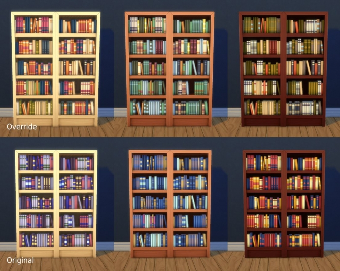Sims 4 Towering Intellect Bookshelf Edits by plasticbox at Mod The Sims