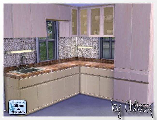 Door, Kitchen, Pilar Brocante Dining, Rugs recolors at All 4 Sims image 4415 Sims 4 Updates
