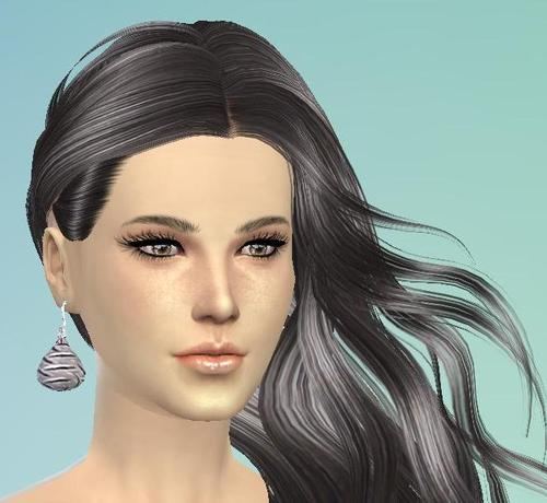 Sims 4 Teardrop Earrings at Tatyana Name