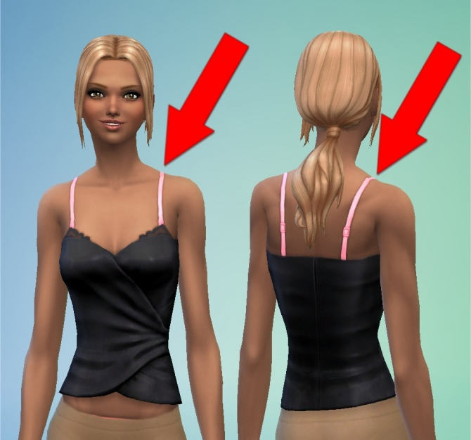 Lace Bras as Accessory by spivoski at Mod The Sims image 4821 Sims 4 Updates