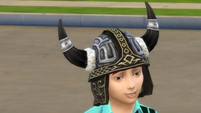 Sims 4 S2 Viking hat conversion by necrodog at Mod The Sims