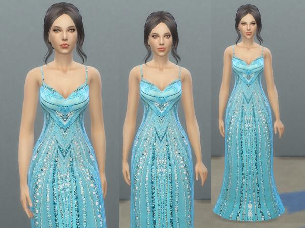 Blue dress names popularity