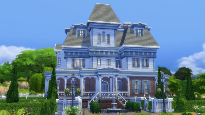Wrayth manor by edwardianed at mod the sims sims 4 updates for Classic house sims 4