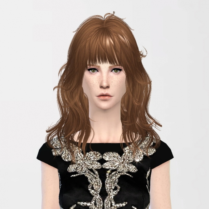 Sims 4 Newsea's Hairs Retexture at InDistrict 12