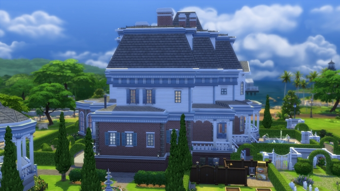 Wrayth Manor by edwardianed at Mod The Sims image 556 Sims 4 Updates