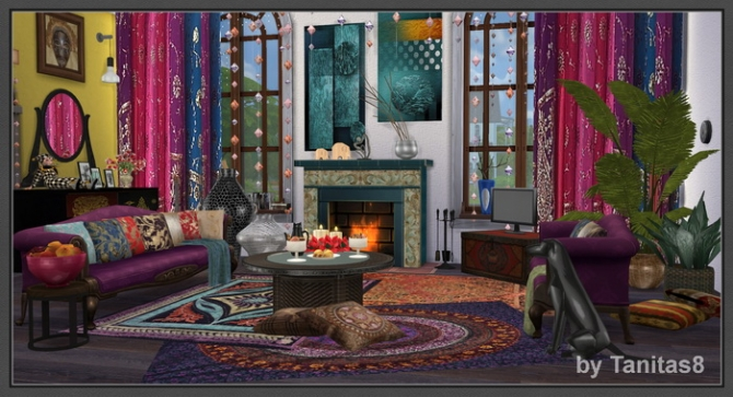 Boho Chic House At Tanitas8 Sims 187 Sims 4 Updates