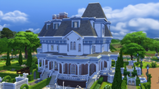 Wrayth Manor by edwardianed at Mod The Sims image 566 Sims 4 Updates