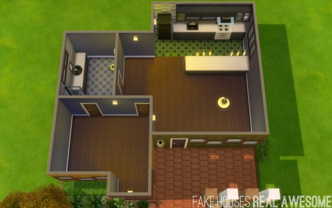 Sims 4 Avana house at Fake Houses Real Awesome