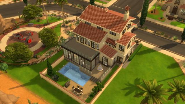 Casa urbana by SimPlayerFromCoast at Sims Marktplatz image 6023 Sims 4 Updates
