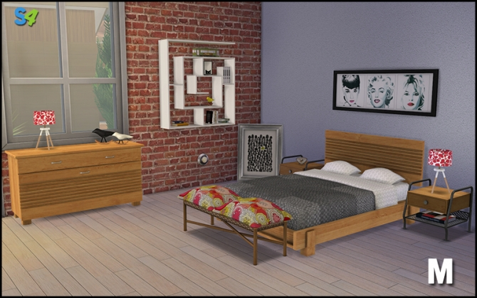 Boston bedroom set at Mango Sims image 6123 Sims 4 Updates