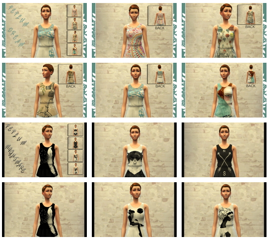 Sims 4 LOVE PEPLUM tops by Bettyboopjade at Sims Artists