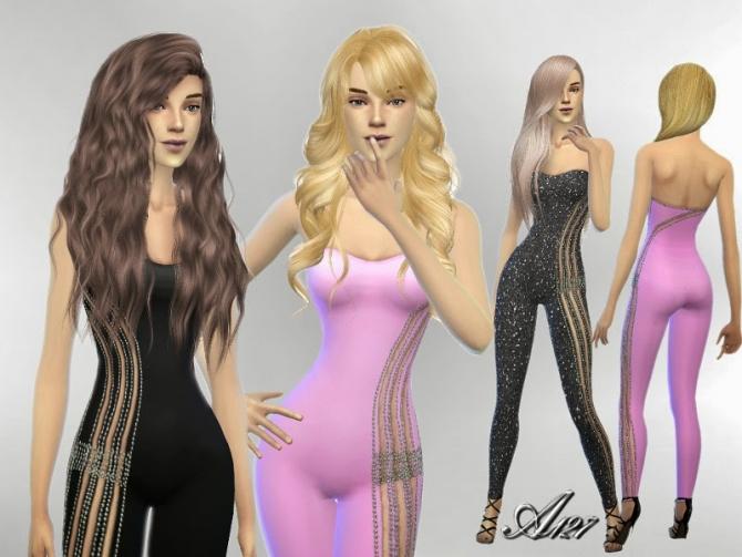 Sims 4 Body Strapless at Altea127 SimsVogue