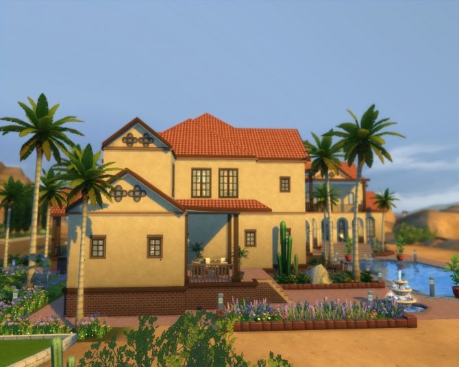 Sims 4 Aspex Mannor by Hannes16 at Mod The Sims