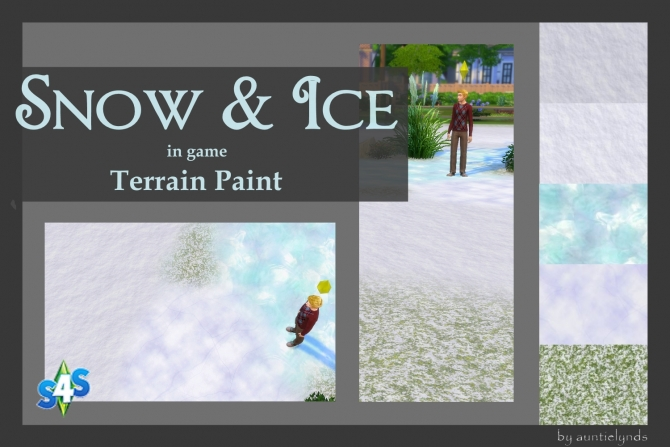Snow & Ice Terrain Paint by auntielynds at Mod The Sims image 64 Sims 4 Updates
