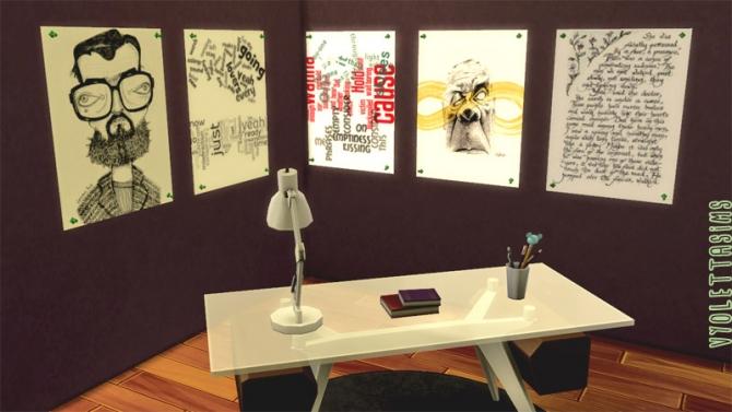 17 posters for writers at Mandarina's Sim World image 6410 Sims 4 Updates