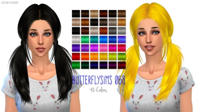 5 Hair retextures at Nessa Sims image 6416 Sims 4 Updates