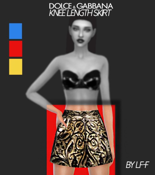 Sims 4 Knee Length Skirt at Lulufrosty frog