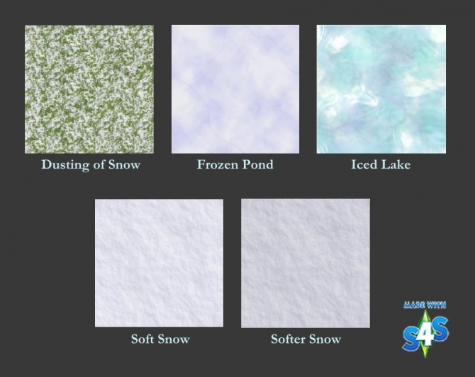 Snow & Ice Terrain Paint by auntielynds at Mod The Sims image 65 Sims 4 Updates