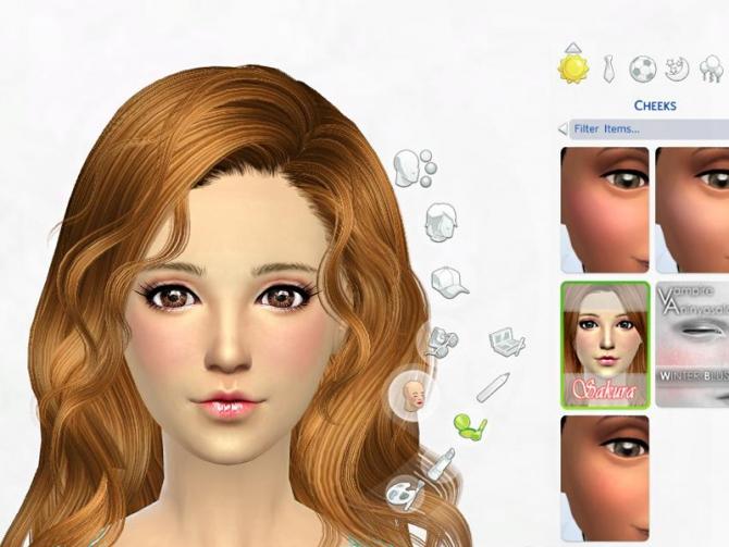 Blush 01 at Sakura Phan image 6518 Sims 4 Updates