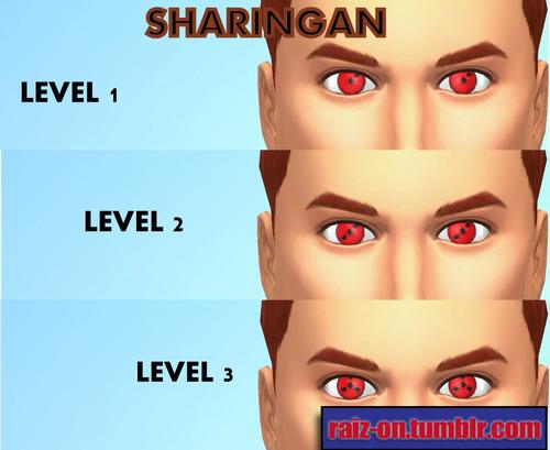 Naruto Eyes At Raiz On 187 Sims 4 Updates