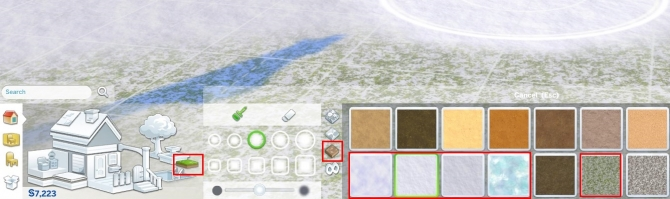 Snow & Ice Terrain Paint by auntielynds at Mod The Sims image 66 Sims 4 Updates