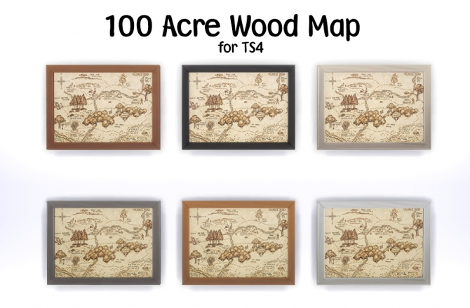 Sims 4 100 acre wood map at Jorgha Haq